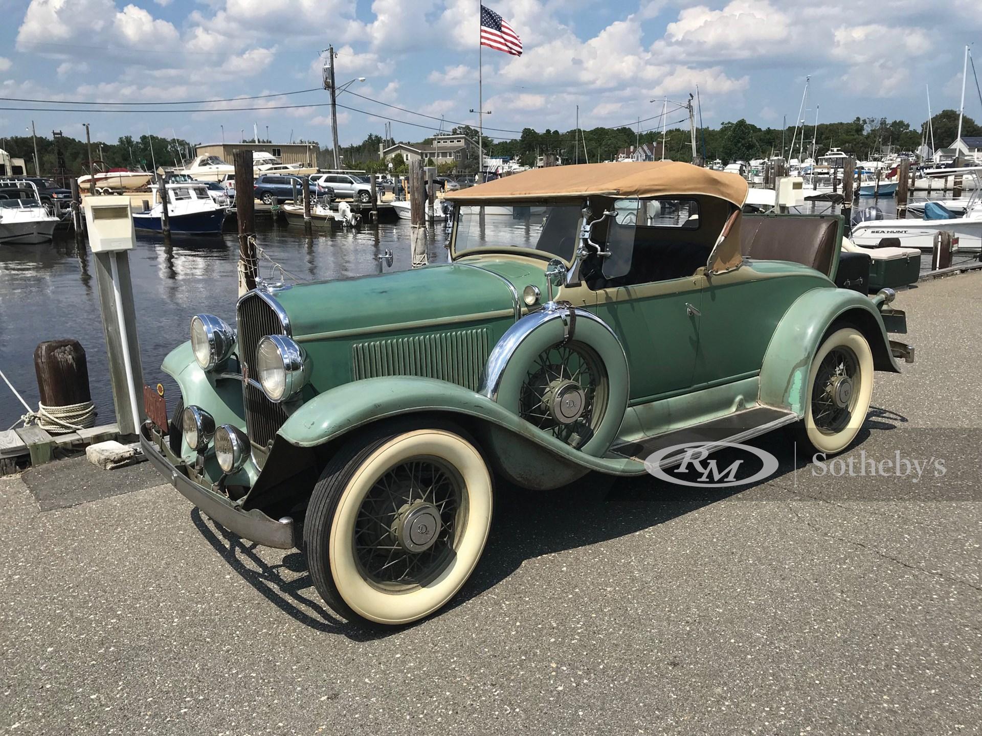 1931 DeSoto Deluxe Roadster  -
