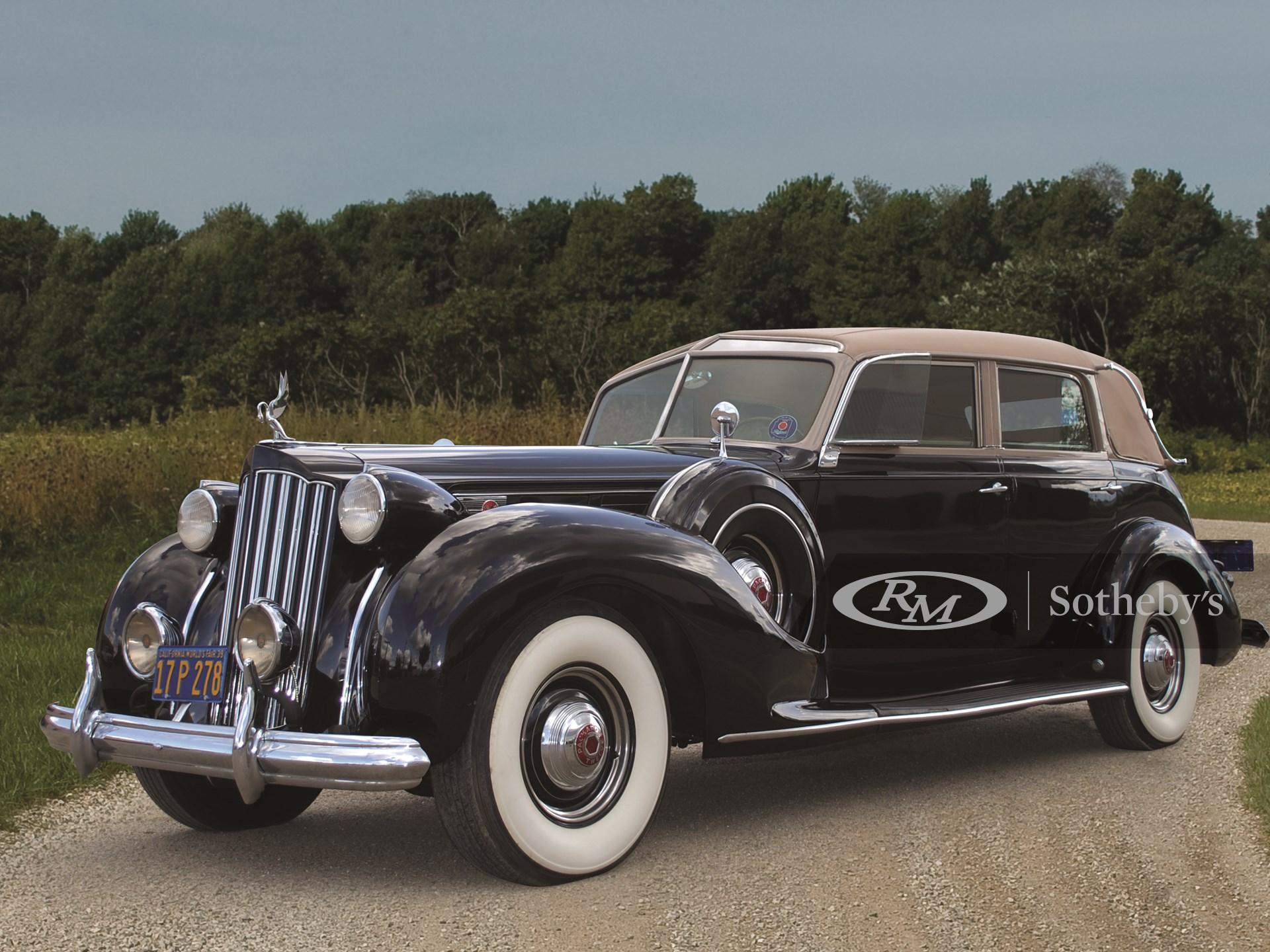 1939 Packard Twelve Collapsible Touring Cabriolet