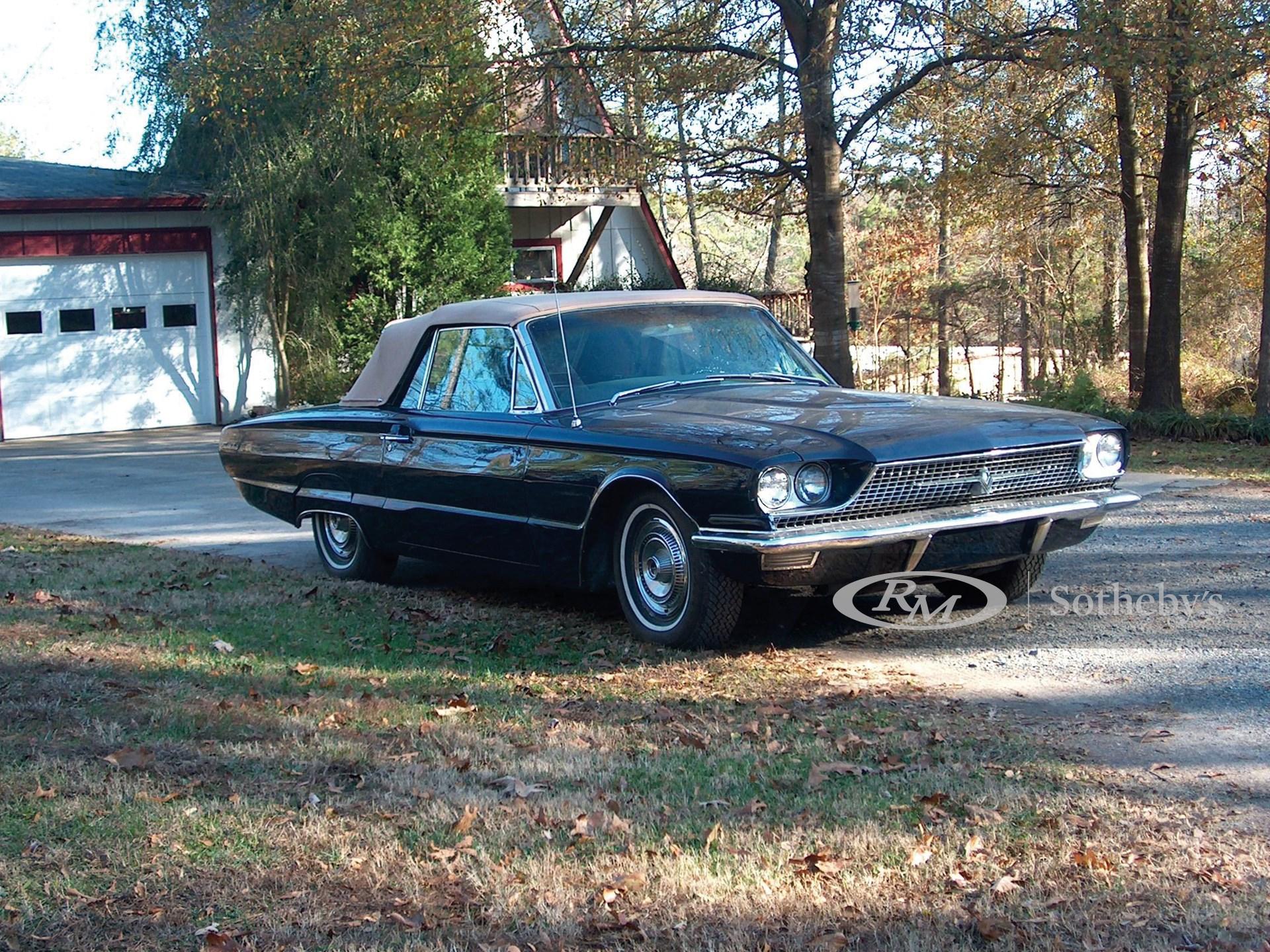 1966 Ford Thunderbird Convertible  -