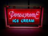 Pensupreme Ice Cream Neon Tin Sign - $