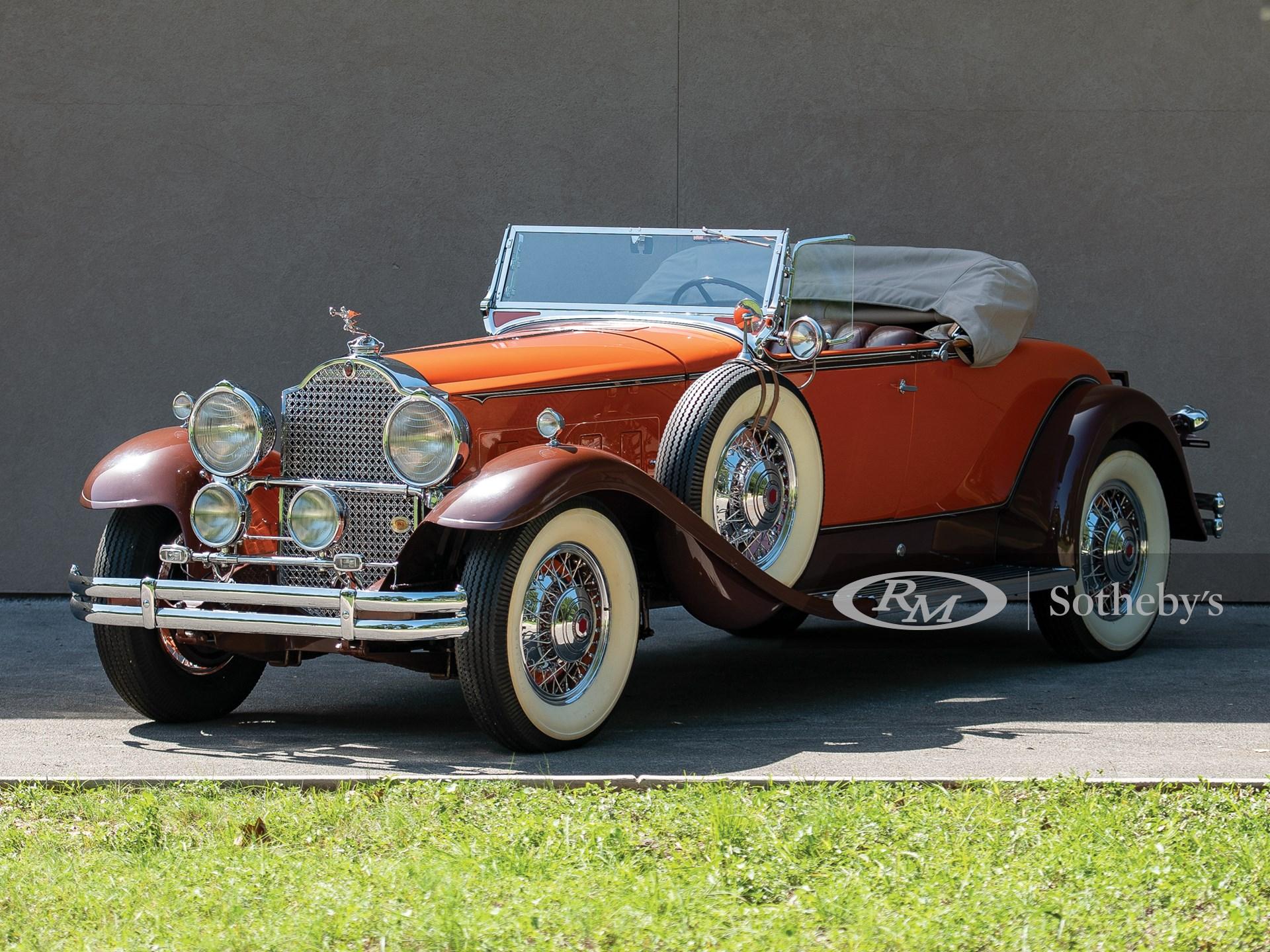 1931 Packard Custom Eight Roadster