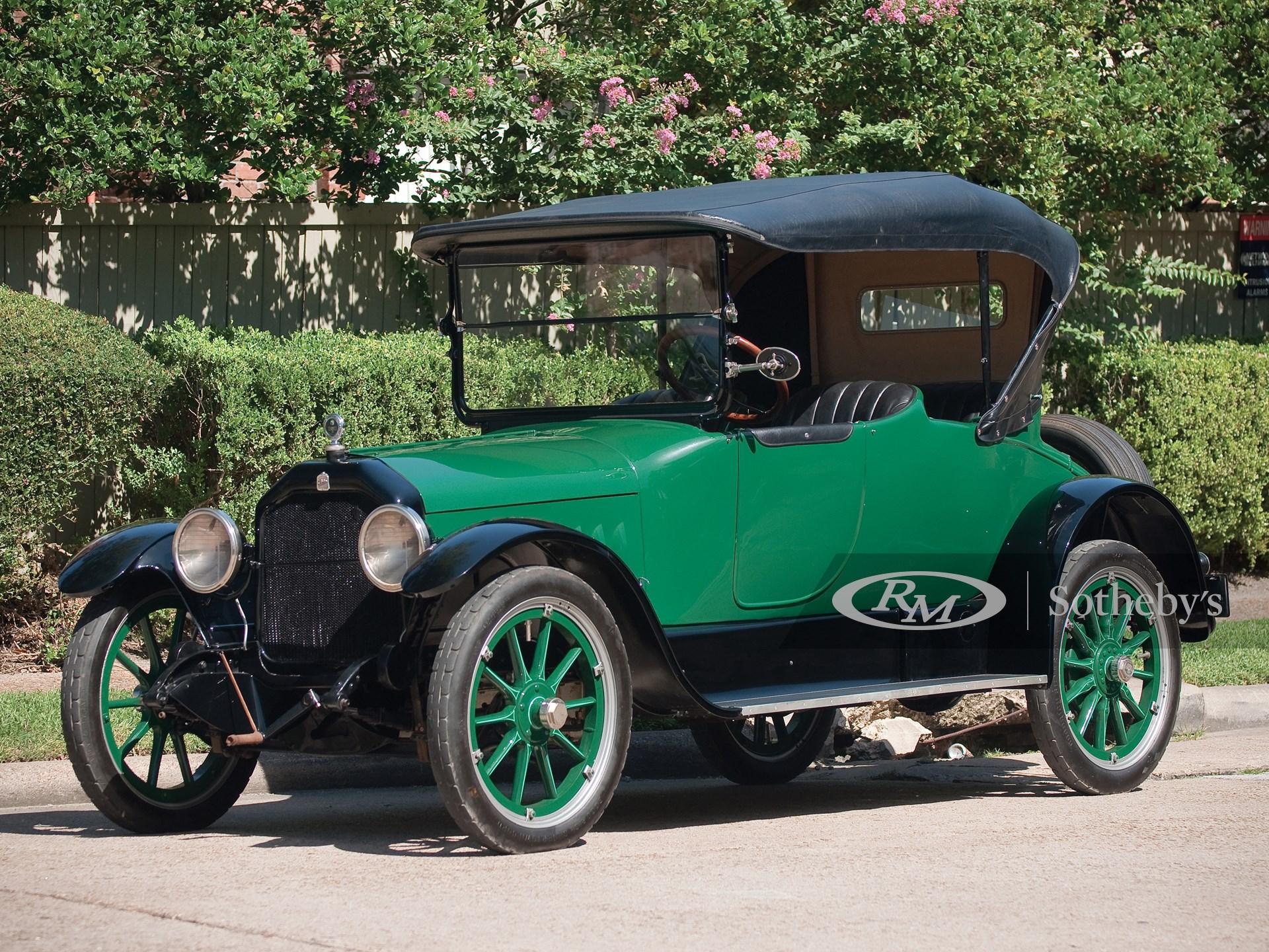 1917 Peerless Model 56 Two-Power-Range Cloverleaf Roadster