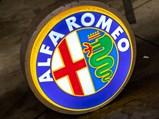 Alfa Romeo Lighted Dealership Sign - $Photo: Teddy Pieper - @vconceptsllc