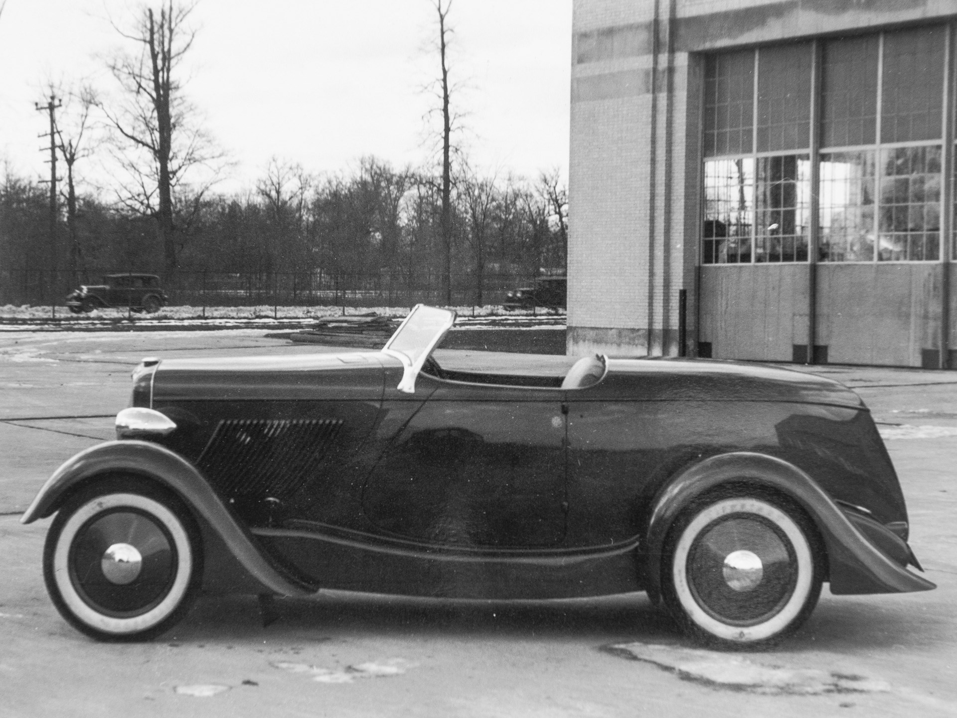 The Edsel Ford Speedster as it appeared when new.