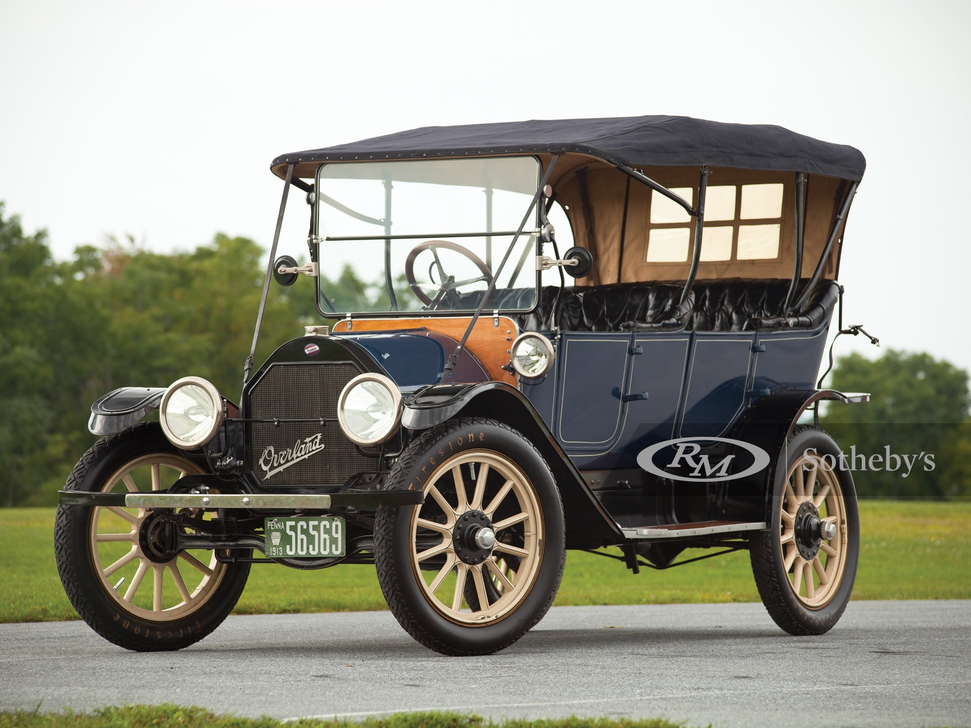 1913 Overland Model 69 Five-Passenger Touring