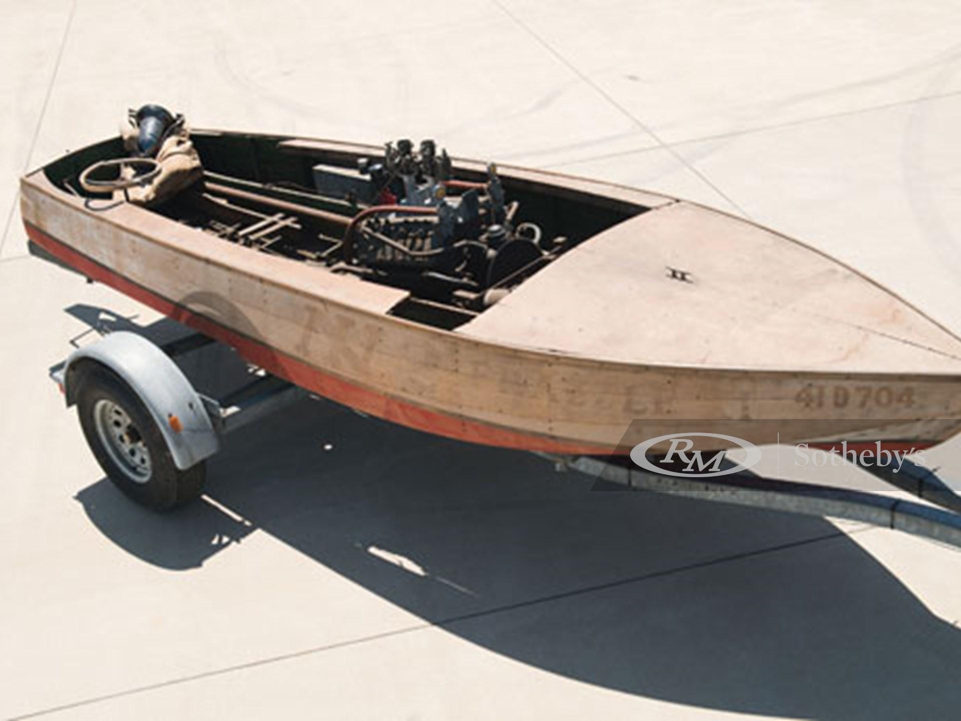 "1935 Pagett ""Frazzle XI"" Step Hydroplane"