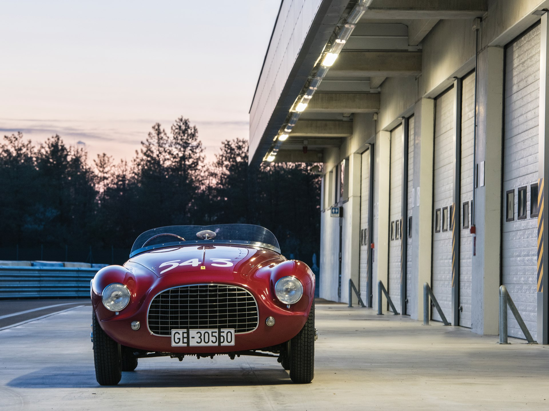 1952 Ferrari 212 Export Barchetta by Touring