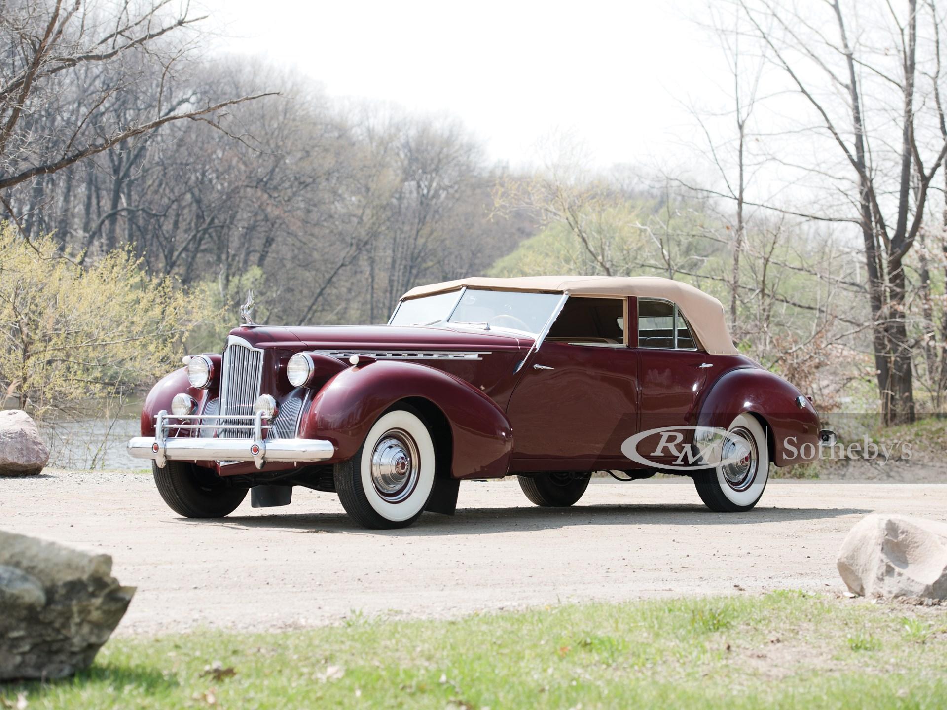 1940 Packard Custom Super Eight One Eighty Convertible Sedan by Darrin