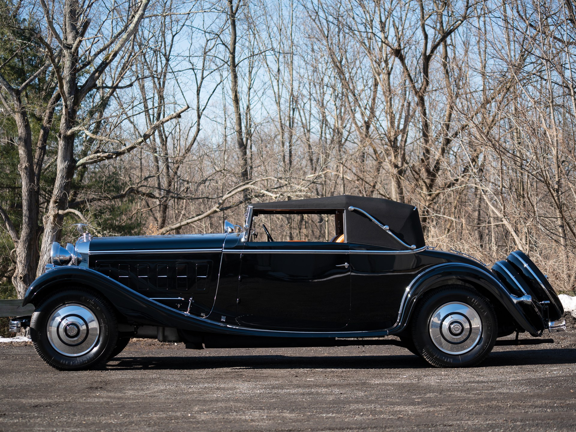 Image result for RM amelia island 1926 Hispano-Suiza H6B Chapron Cabriolet Le Dandy