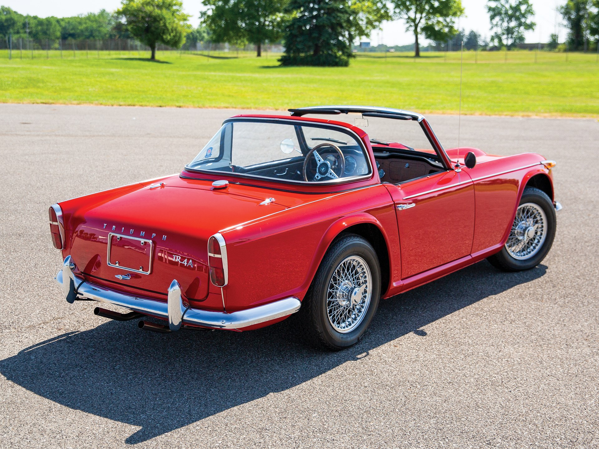 RM Sotheby's - 1966 Triumph TR4A | Hershey 2018