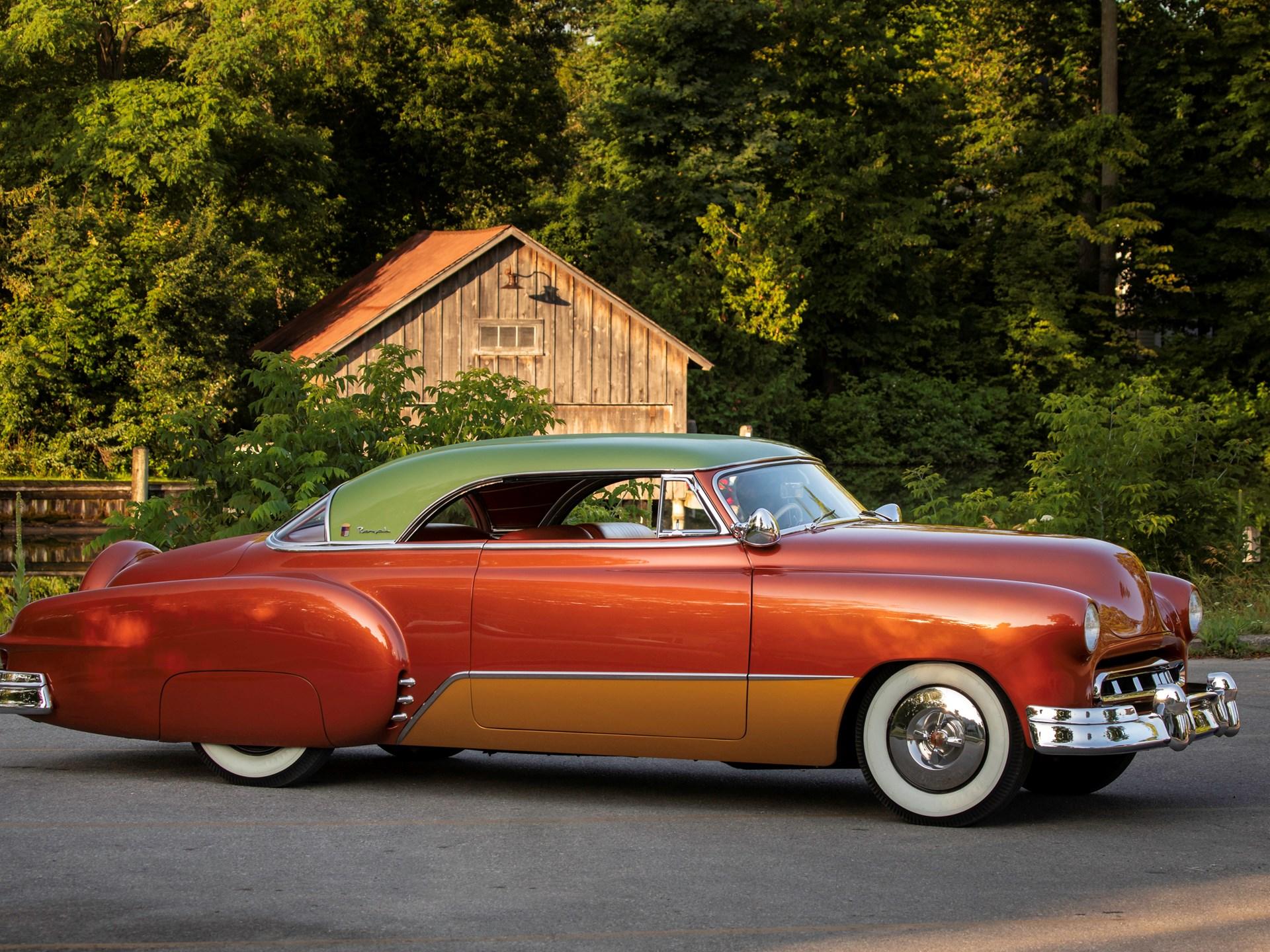 Rm Sothebys 1951 Chevrolet Bel Air Royal Recreation Auburn Fall 2 Door Hardtop