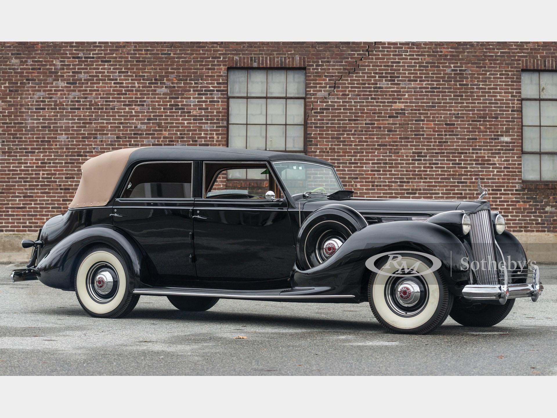 1938 Packard Twelve Landaulet by Rollston