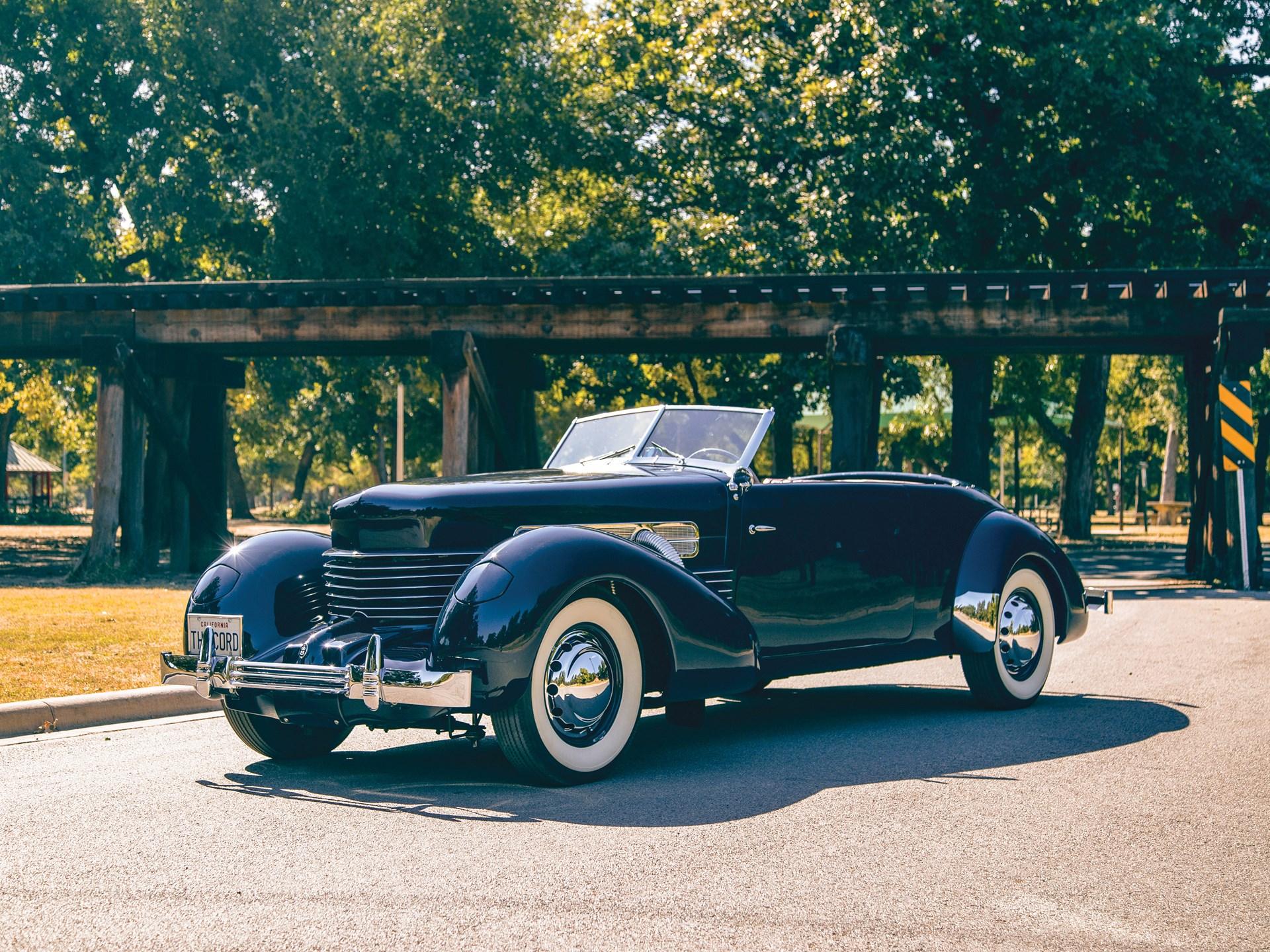 1937 Cord 812 Supercharged Phaeton