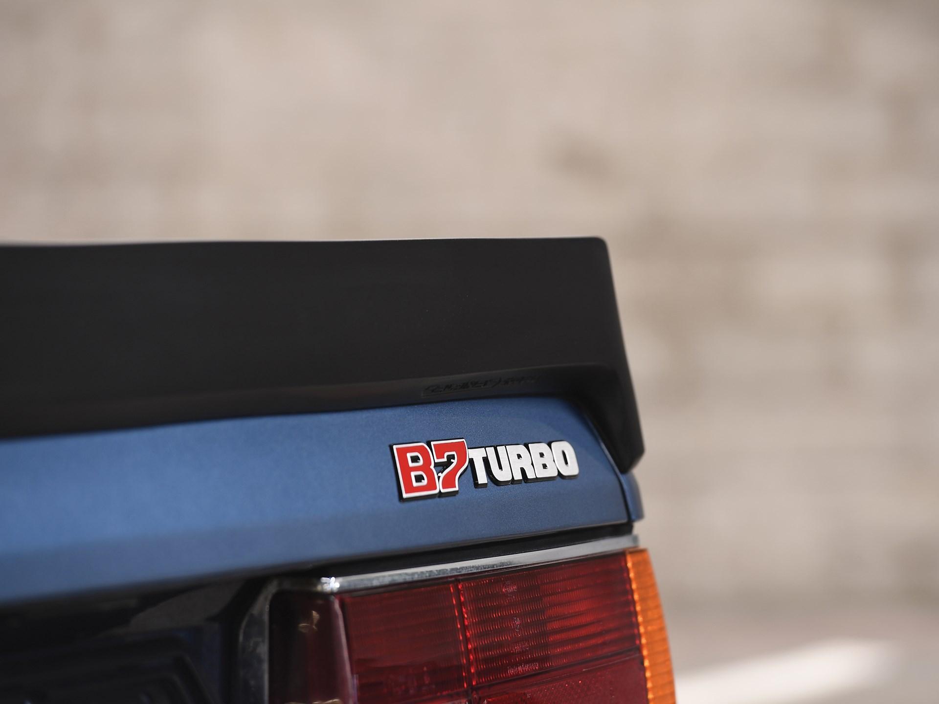 1985 BMW Alpina B7 Turbo Coupé