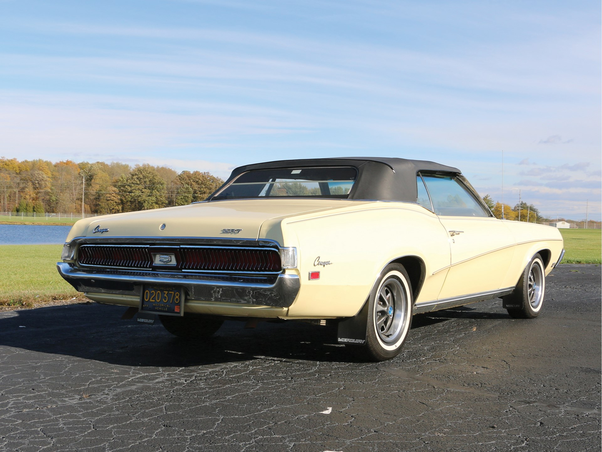 RM Sotheby's - 1969 Mercury Cougar 428 Cobra Jet Convertible