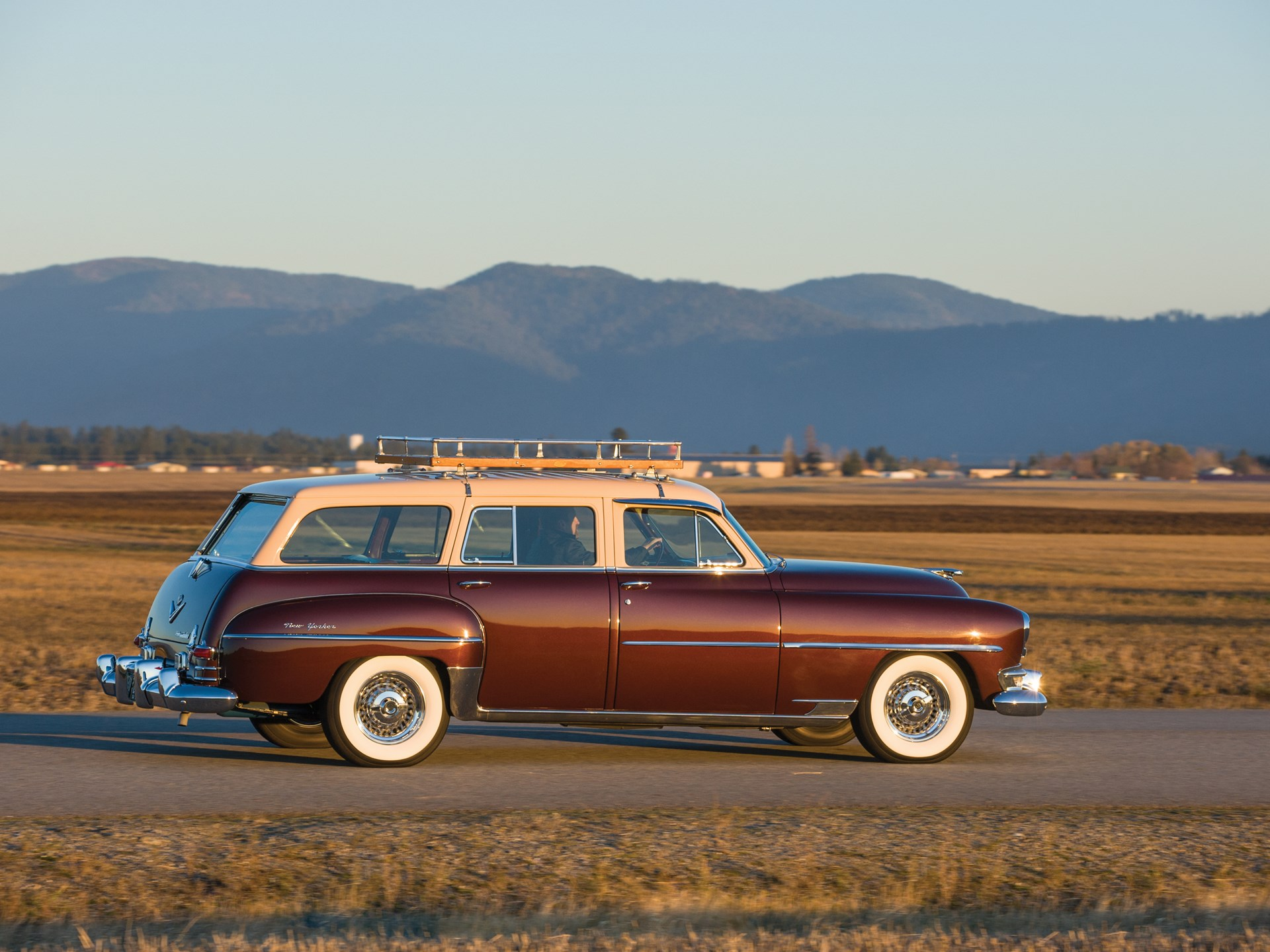 Rm Sothebys 1954 Chrysler New Yorker Town And Country Wagon