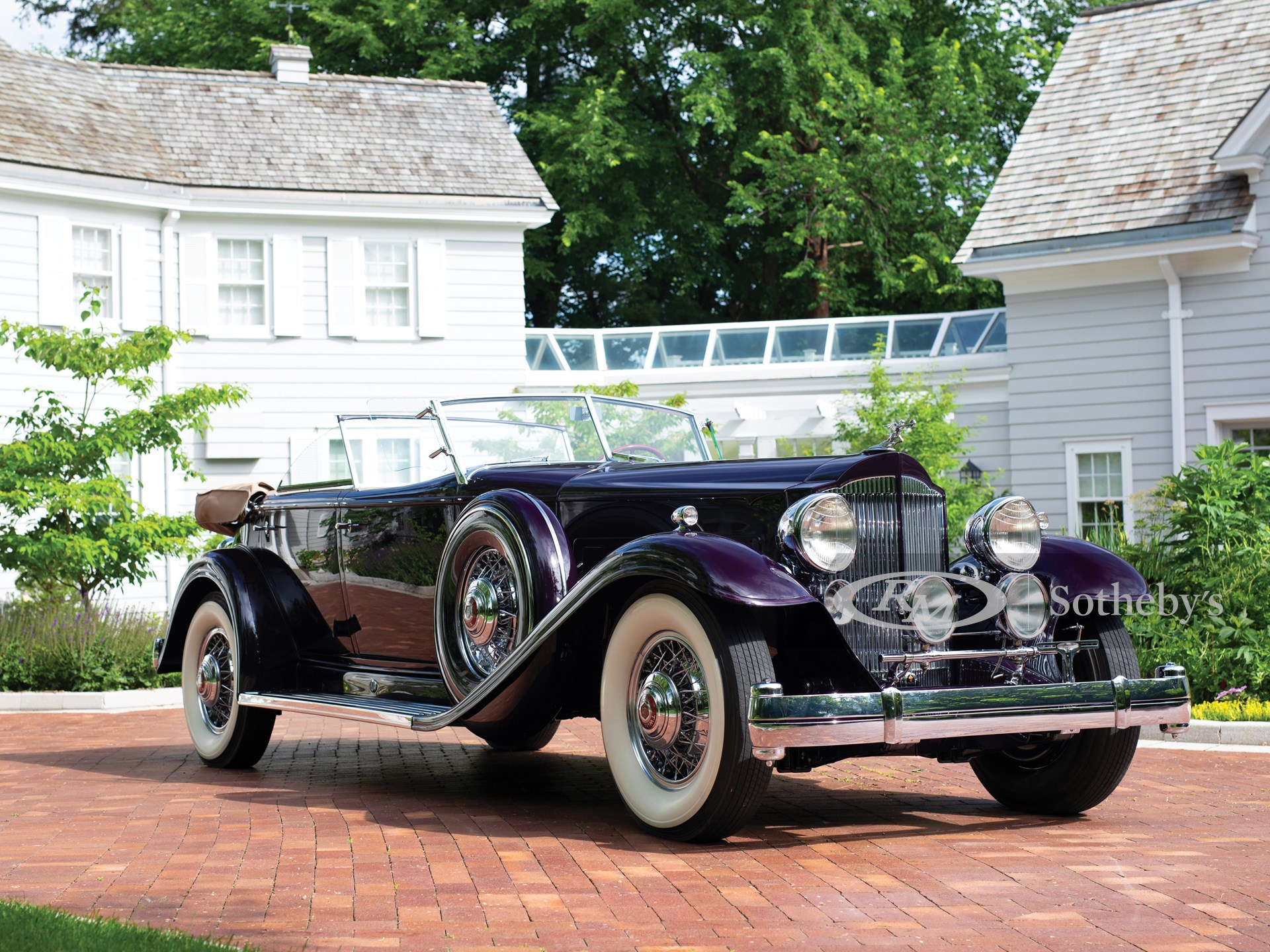 1932 Packard Twin Six Individual Custom Sport Phaeton by Dietrich
