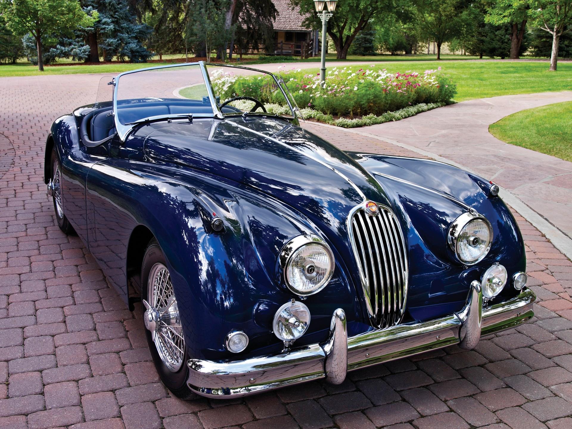 RM Sotheby's - 1955 Jaguar XK 140MC Roadster | Vintage ...  |1955 Jaguar Roadster