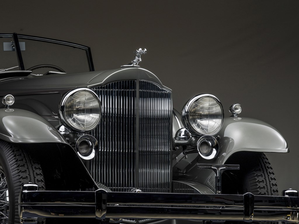1932 Packard Twin Six Individual Custom Convertible Sedan and 1929 Bentley 4Litre Open FourSeater Sports