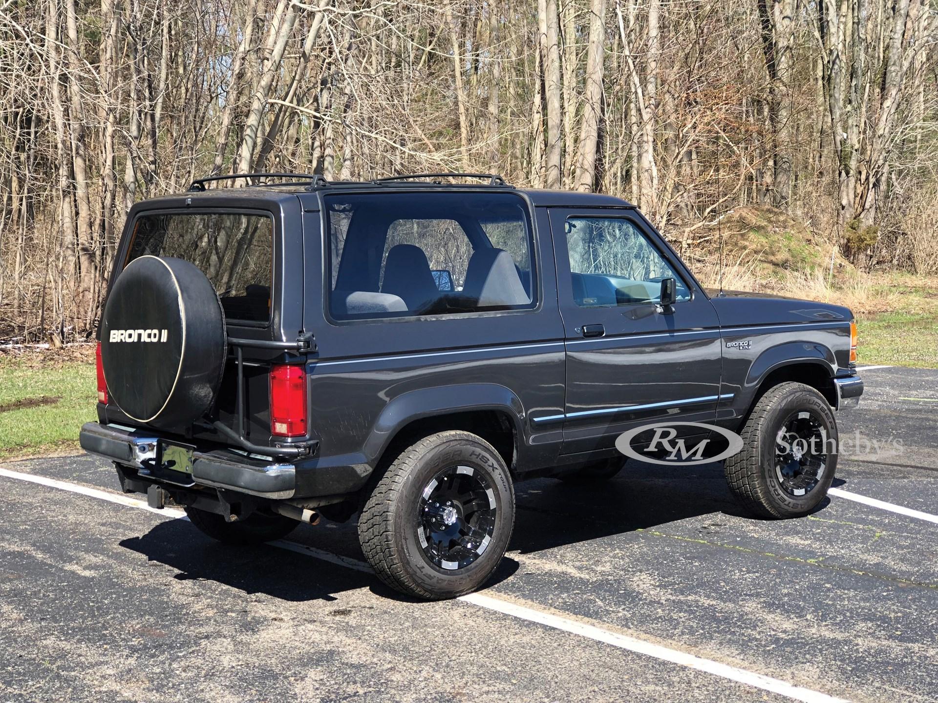 1990 Ford Bronco II XT  -