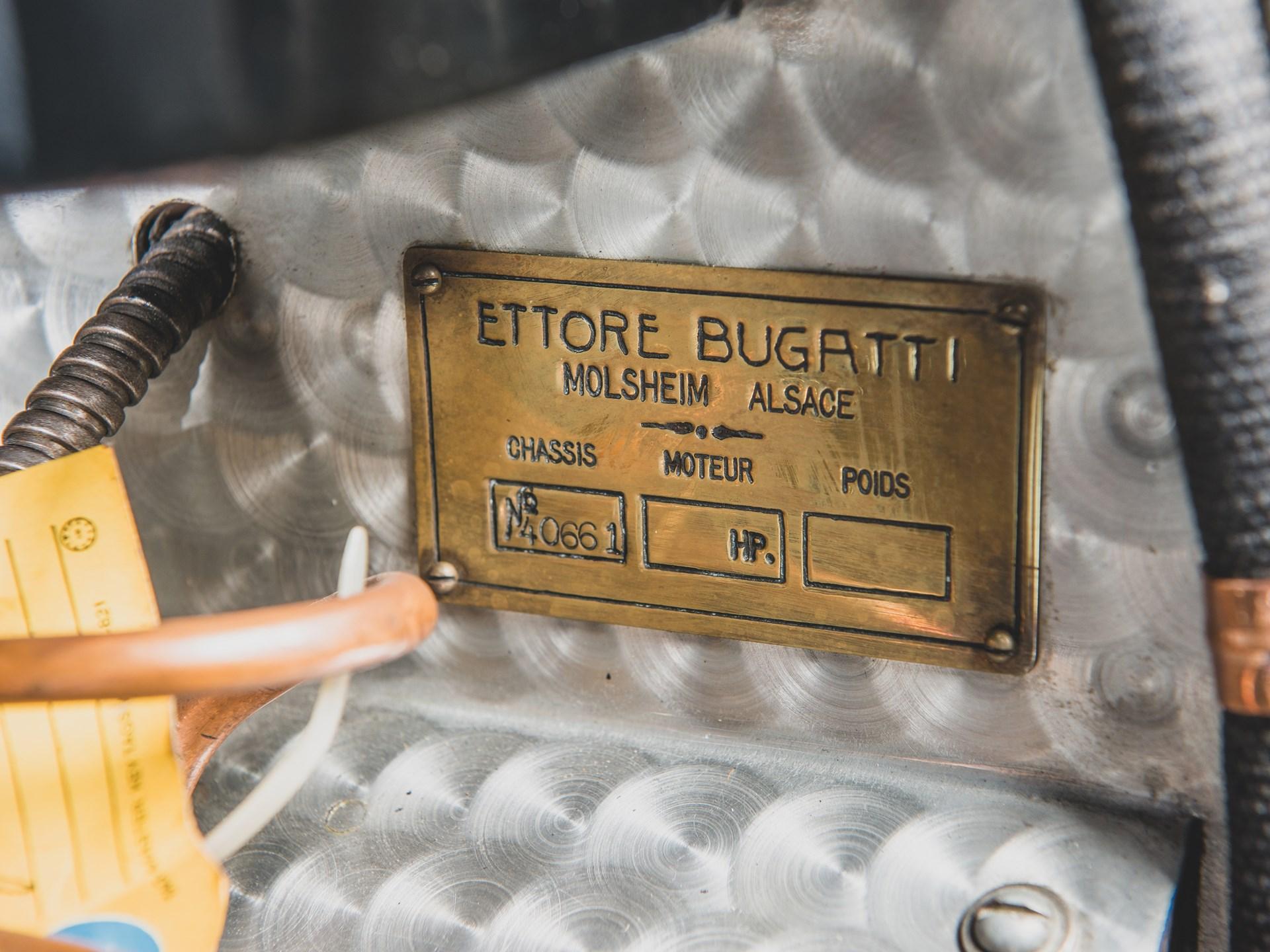 1927 Bugatti Type 40 Grand Sport