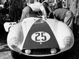 1955 Ferrari 750 Monza Spider by Scaglietti - $Chassis no. 0510 M awaits the start of the 1955 12 Hours of Sebring.