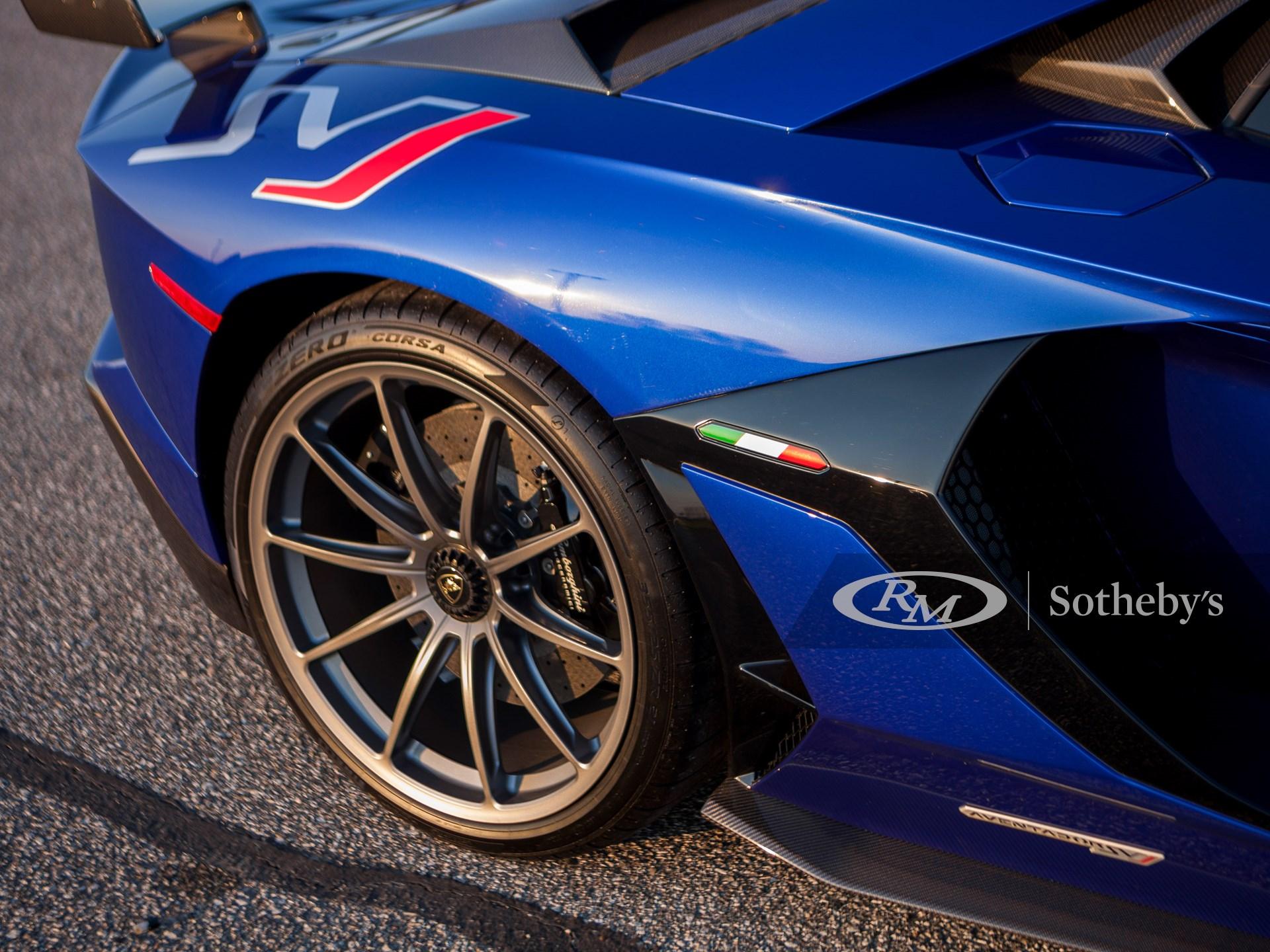 2020 Lamborghini Aventador SVJ  -