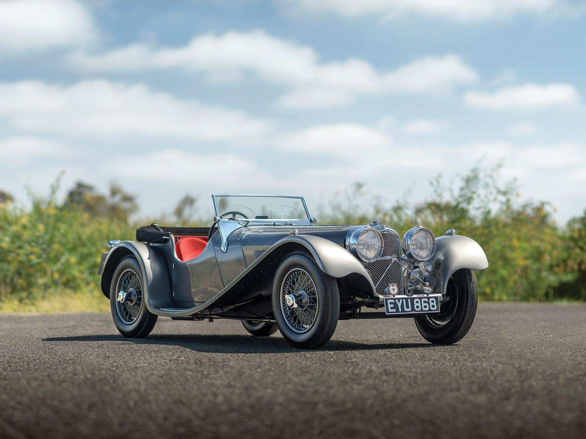 1938 SS 100 Jaguar Roadster