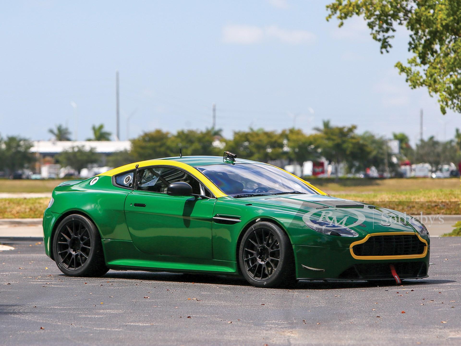 2010 Aston Martin V8 Vantage Gt4 Monterey 2019 Rm Sotheby S