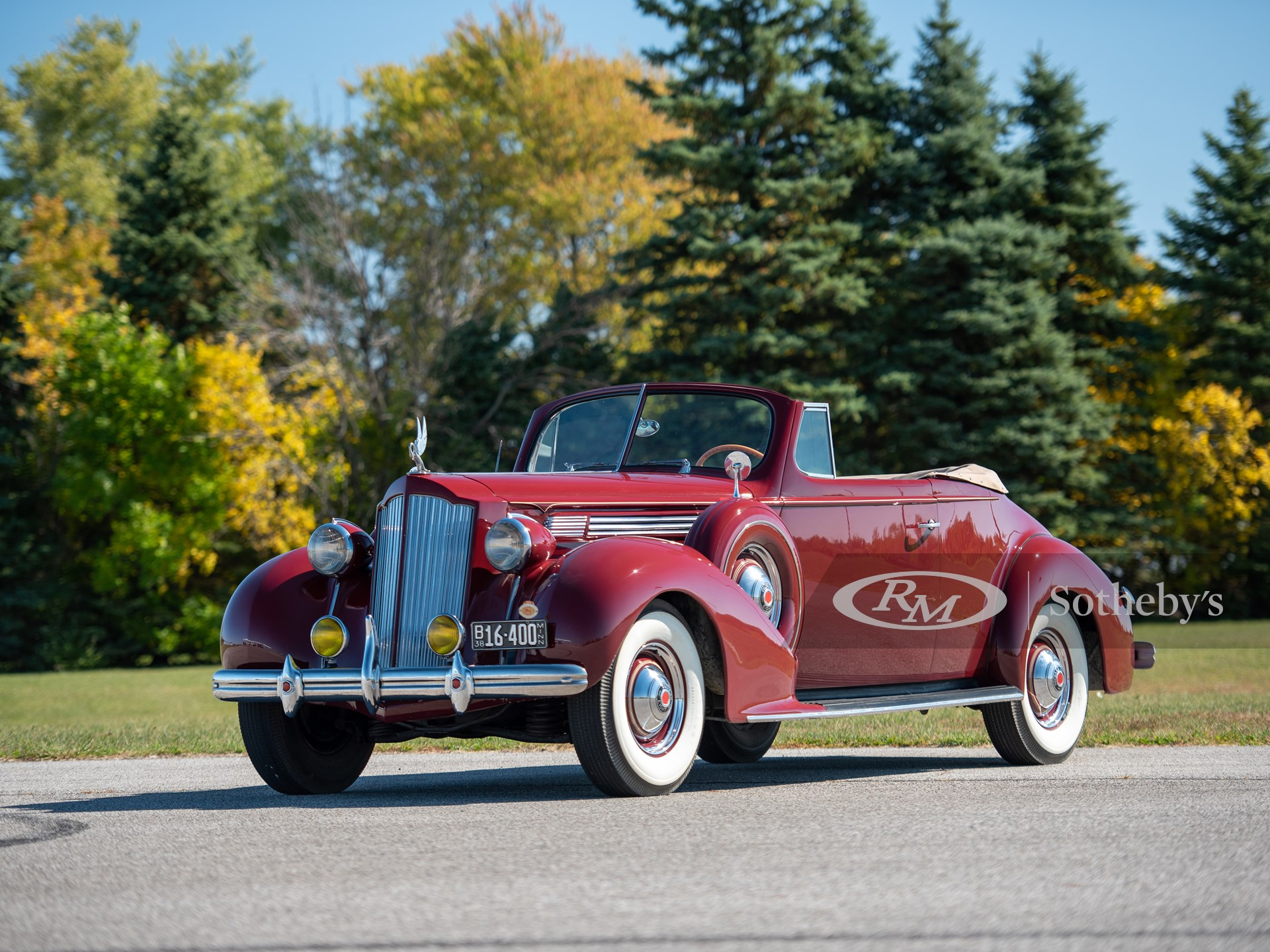 1938 Packard Eight Convertible Coupe