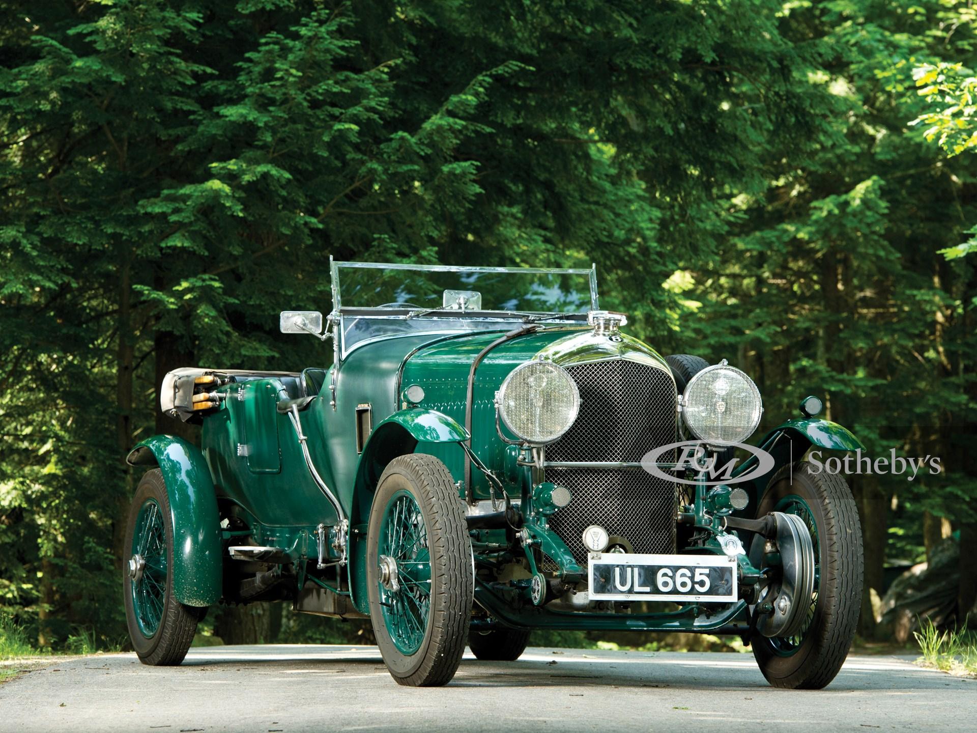 1929 Bentley 4 1/2-Litre Open Tourer by Vanden Plas