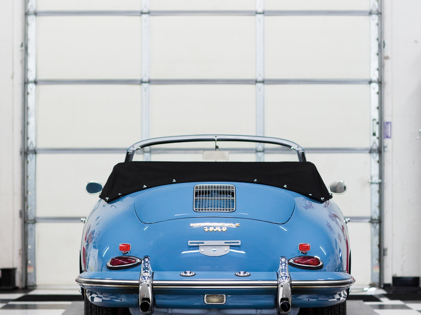 1961 porsche 356 b 1600 super cabriolet by reutter