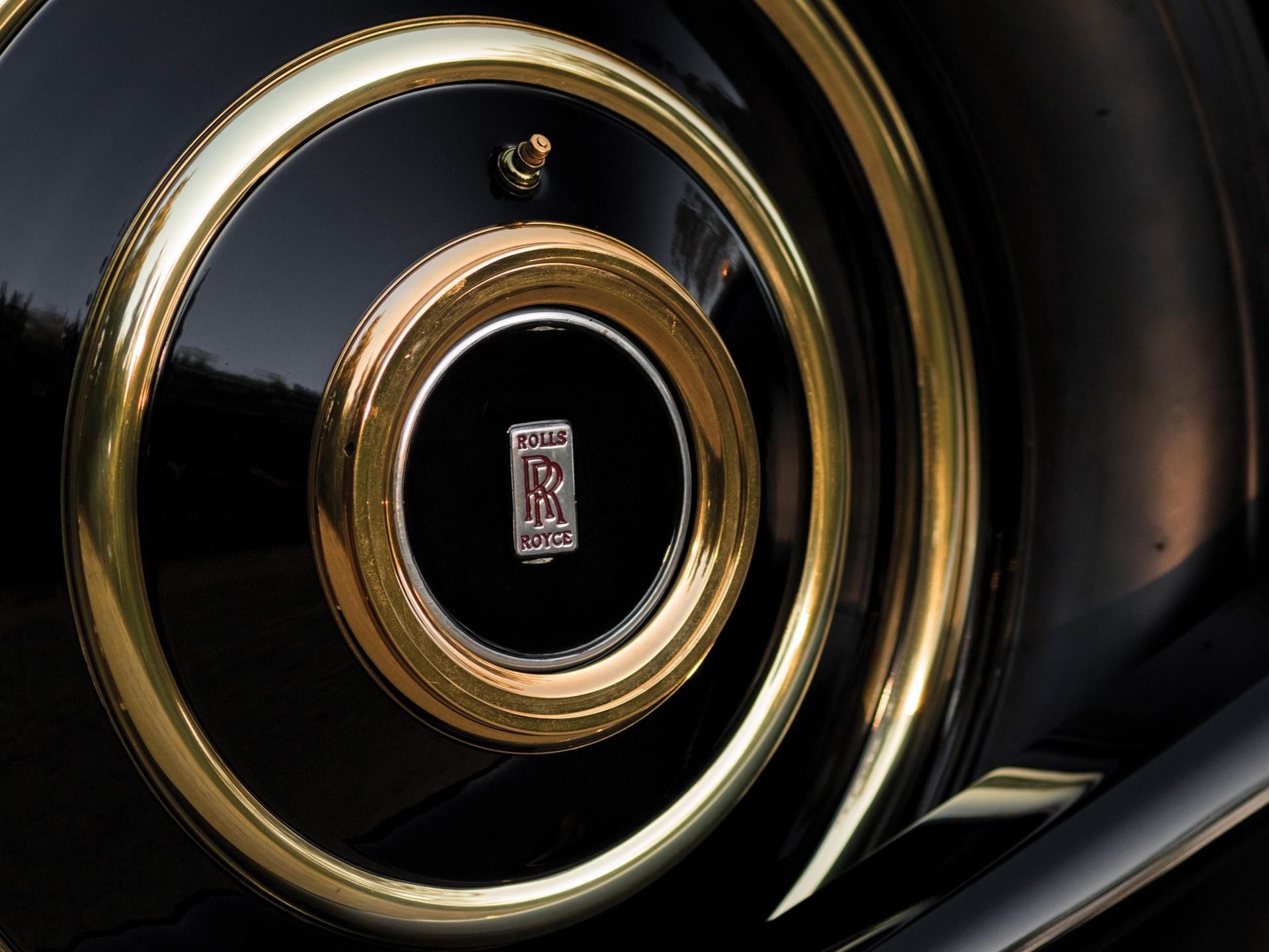 1929 Rolls-Royce Phantom I Riviera Town Car by Brewster