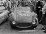 1953 Ferrari 166 MM Spider  - $ Chassis 0272 at the 1954 Mille Miglia.