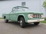 1968 Dodge ½-Ton Camper Special  - $