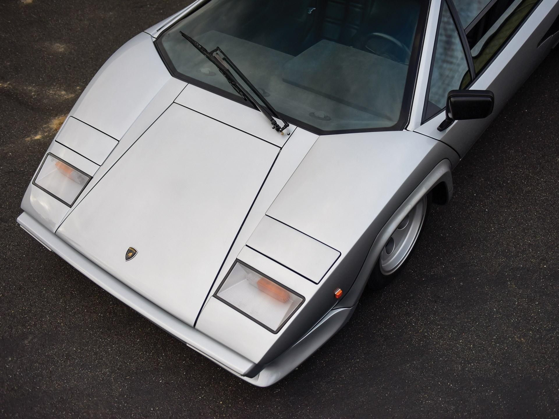 1981 Lamborghini Countach LP400 S Series II by Bertone