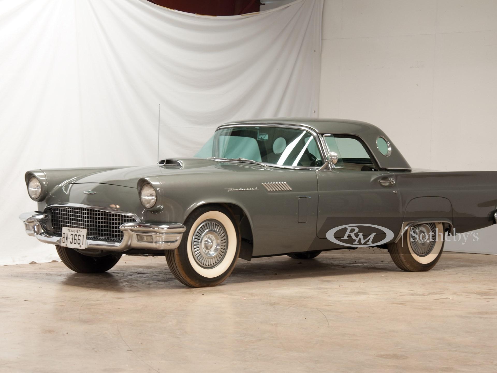 1957 Ford Thunderbird Convertible  -