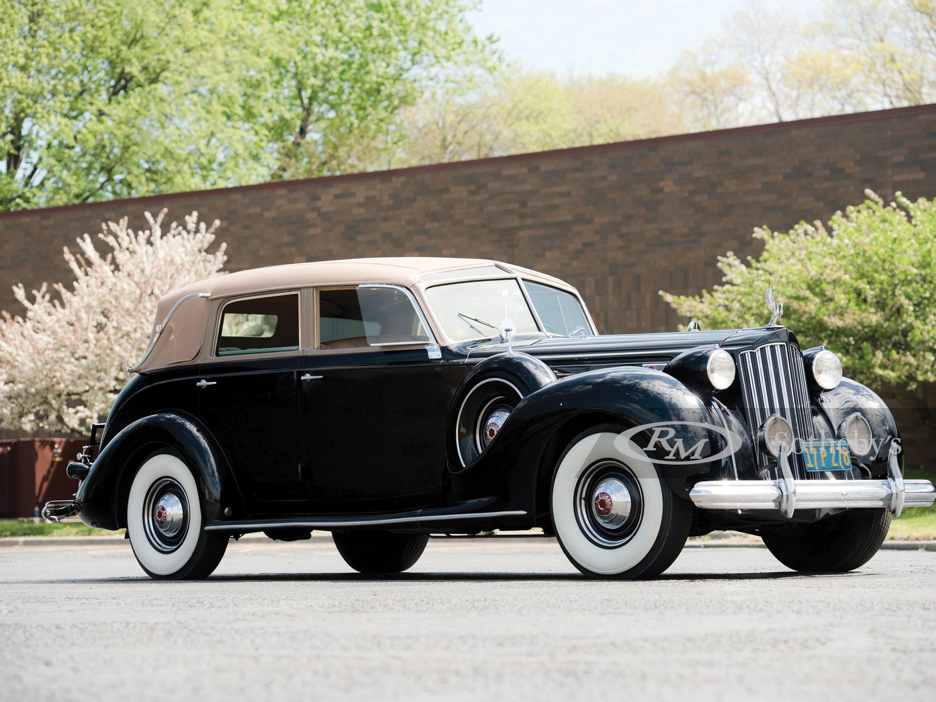 1939 Packard Twelve Touring Cabriolet by Brunn