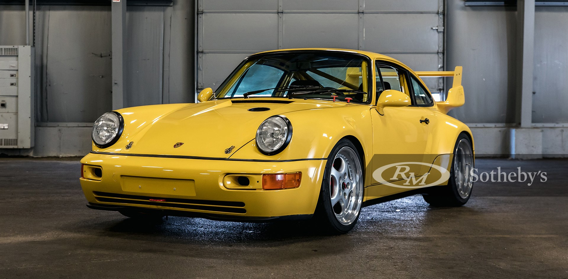 1993 Porsche 911 Carrera RSR 3.8 available at RM Sotheby's Amelia Island Live Auction 2021