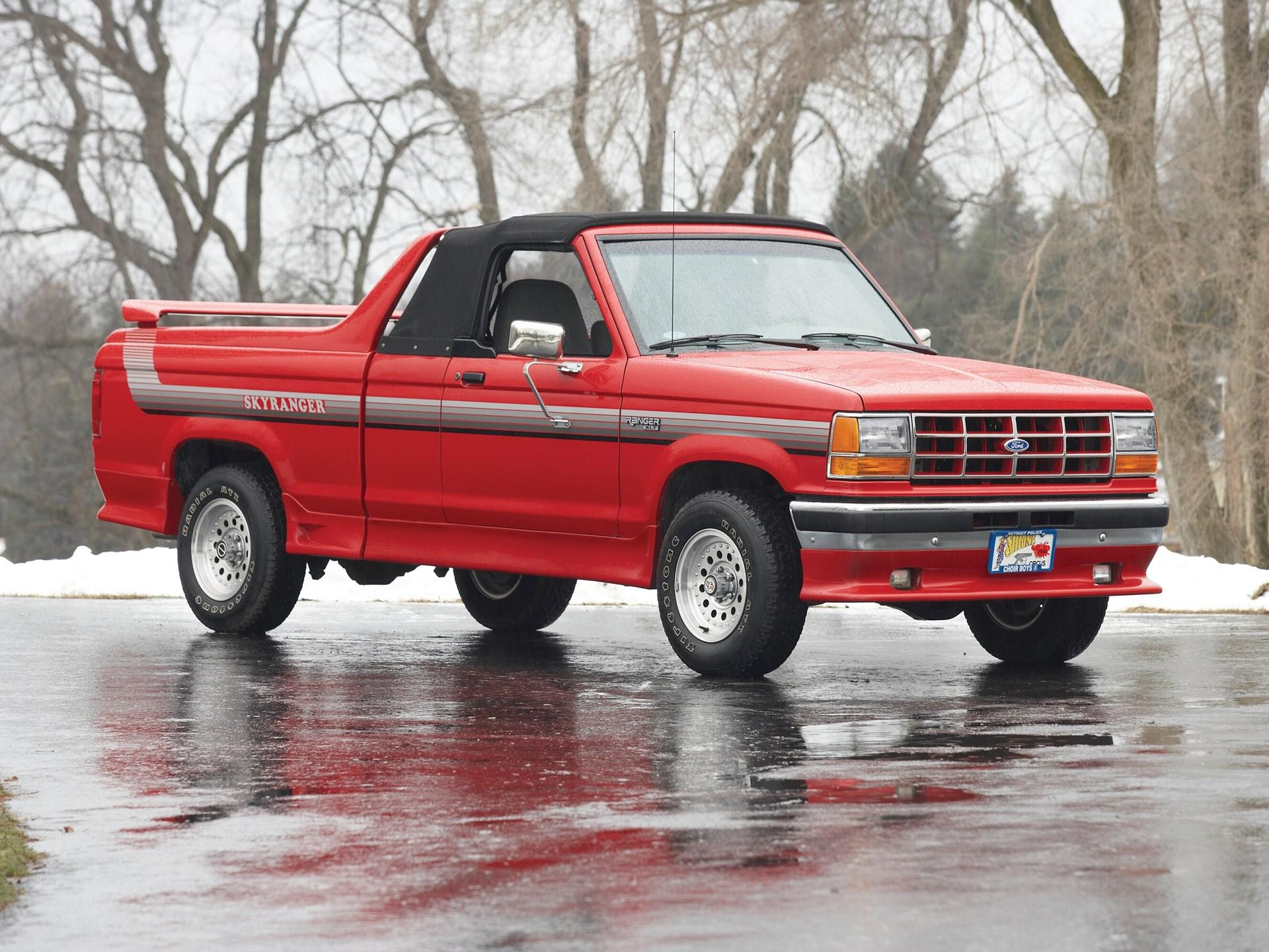1991 Ford Xlt Skyranger Convertible Pickup