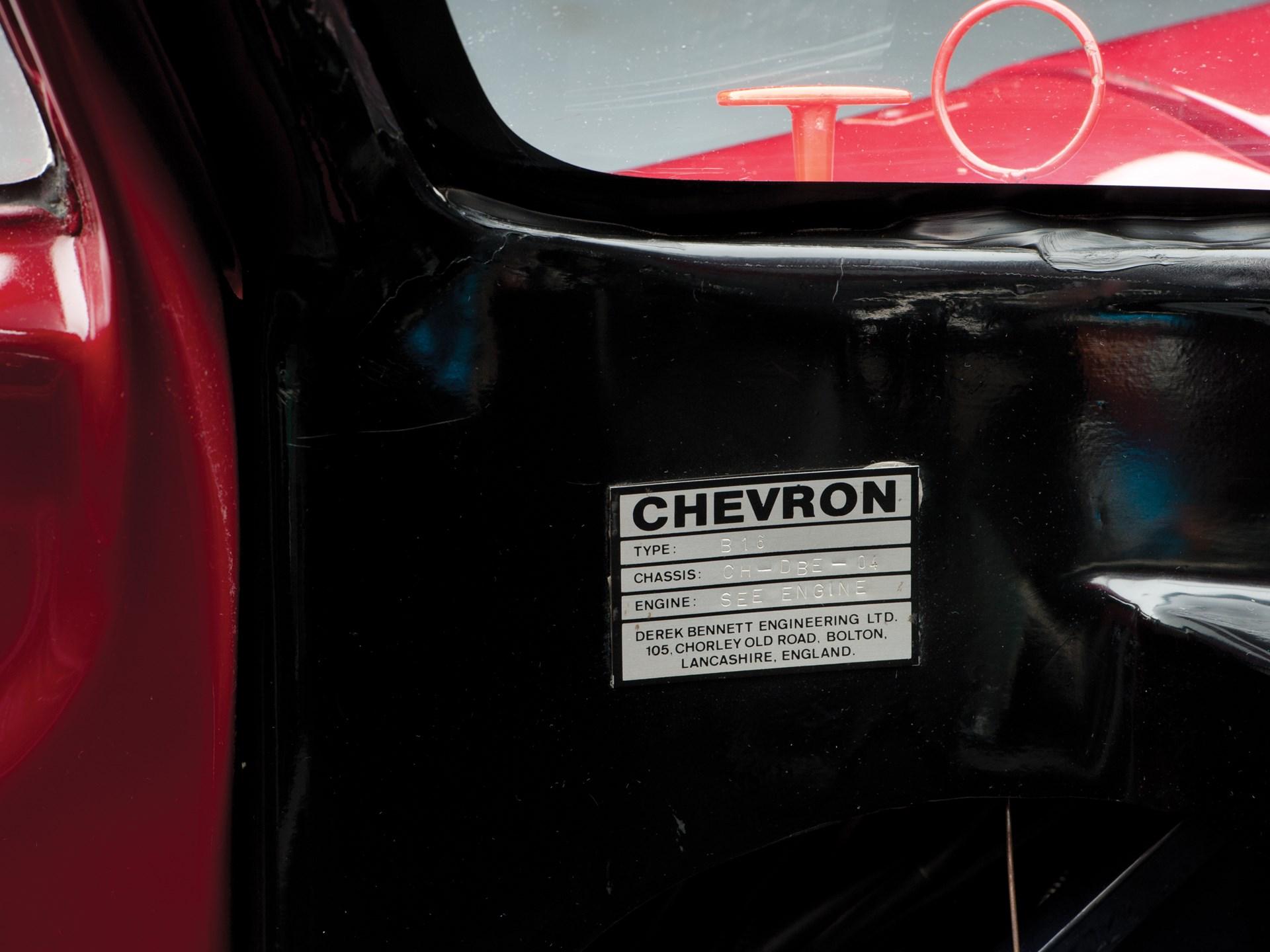 Rm Sothebys 1970 Chevron B16 London 2013