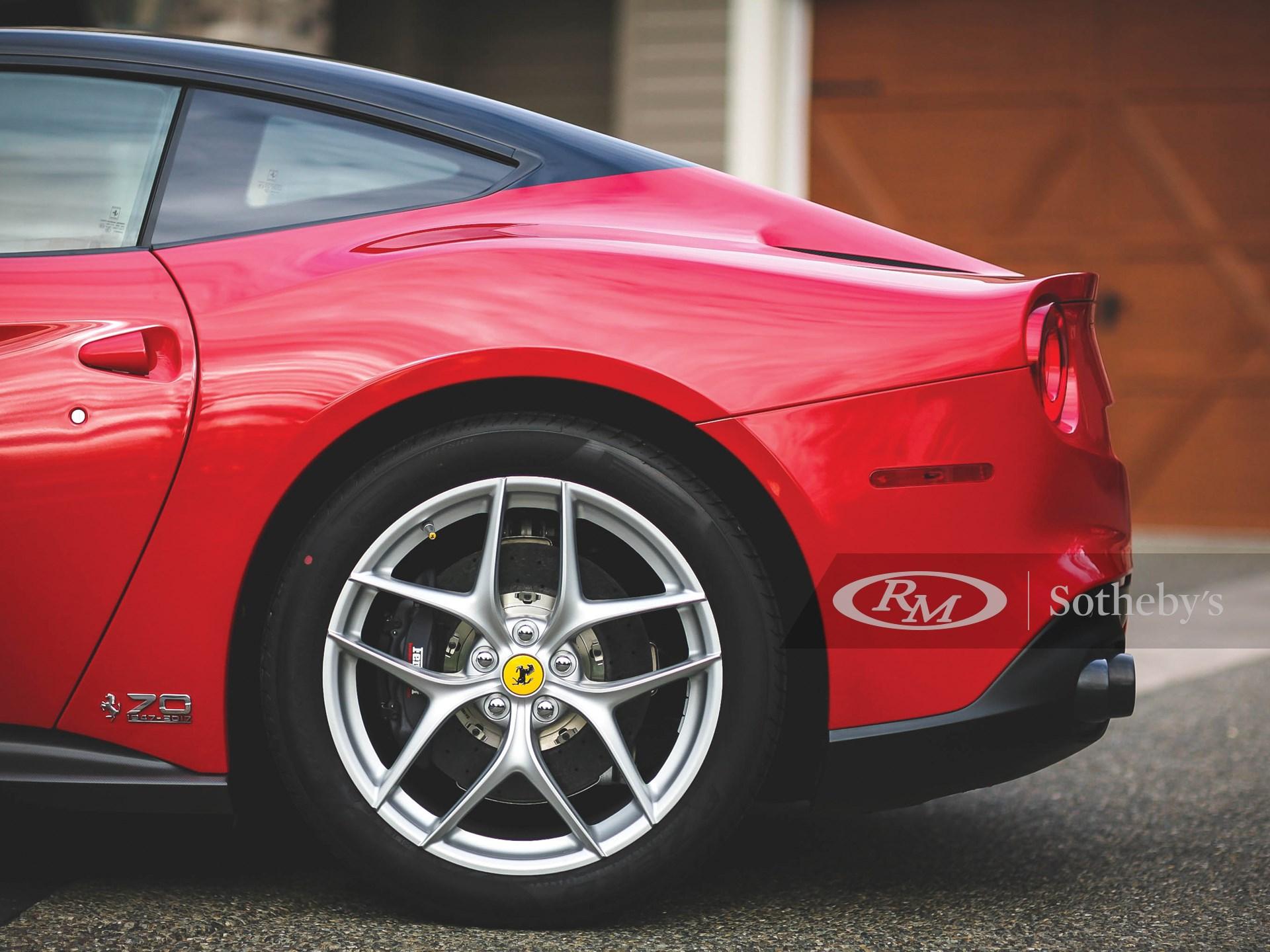 2017 Ferrari F12 Berlinetta 70th Anniversary  -