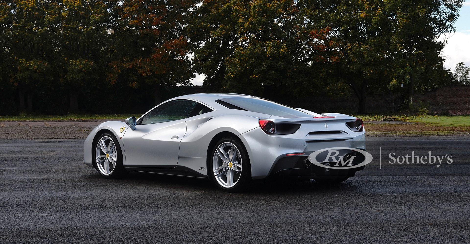 RM Sotheby's London 2020, Blog, 2018 Ferrari 488 GTB 70th Anniversary
