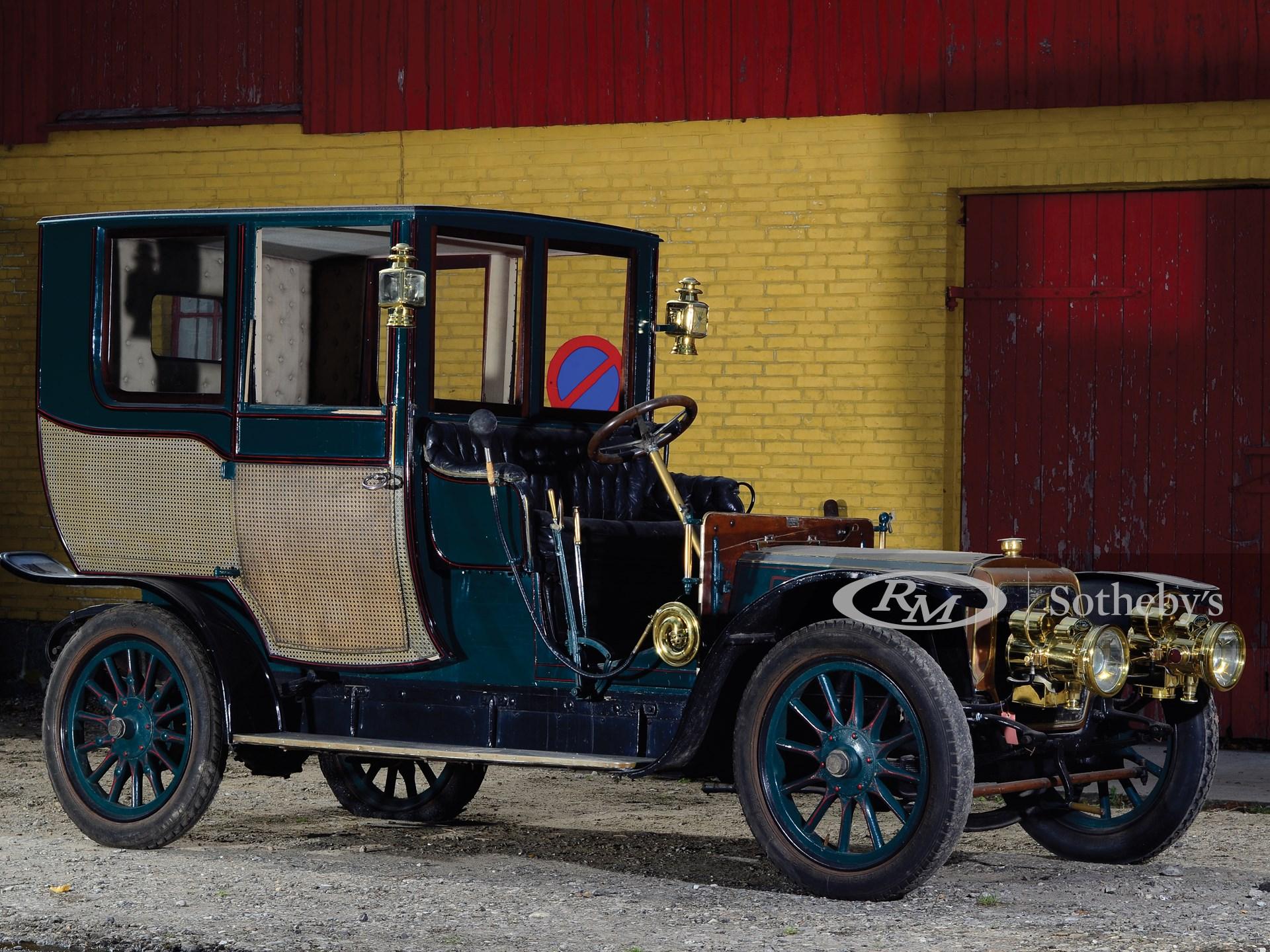 1908 Panhard & Levassor Type X1 Coupé Chauffeur by Rothschild