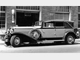 1930 Duesenberg Model J Imperial Cabriolet by Hibbard & Darrin - $J-254 in Auburn, Indiana, during the ACD Club's National Reunion in the early 1960s.