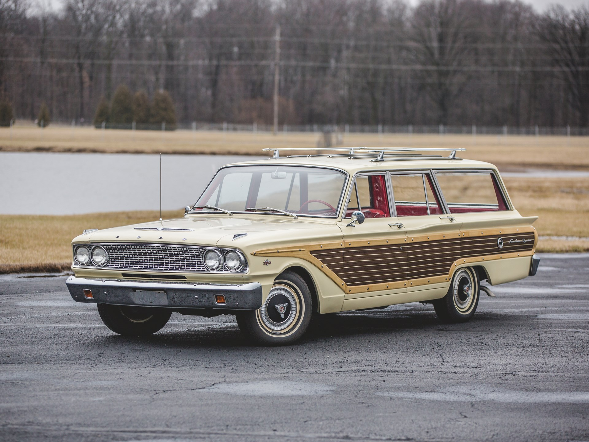 RM Sotheby's - 1963 Ford Fairlane 500 Squire | Auburn Spring