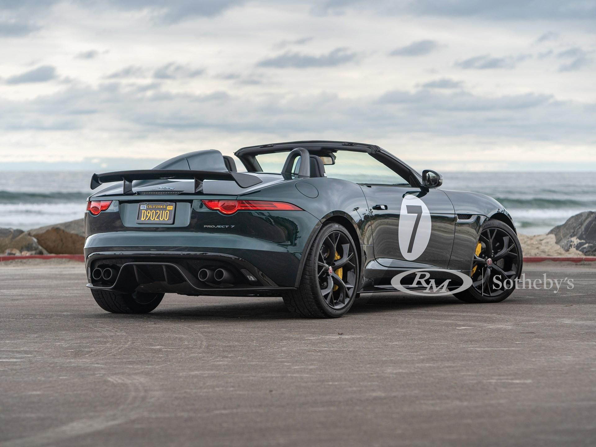 2016 Jaguar F-Type Project 7  -