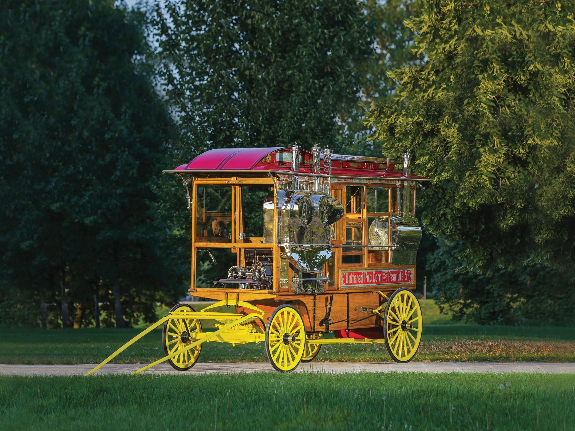 1912 Dunbar Model 1200 Popcorn Wagon