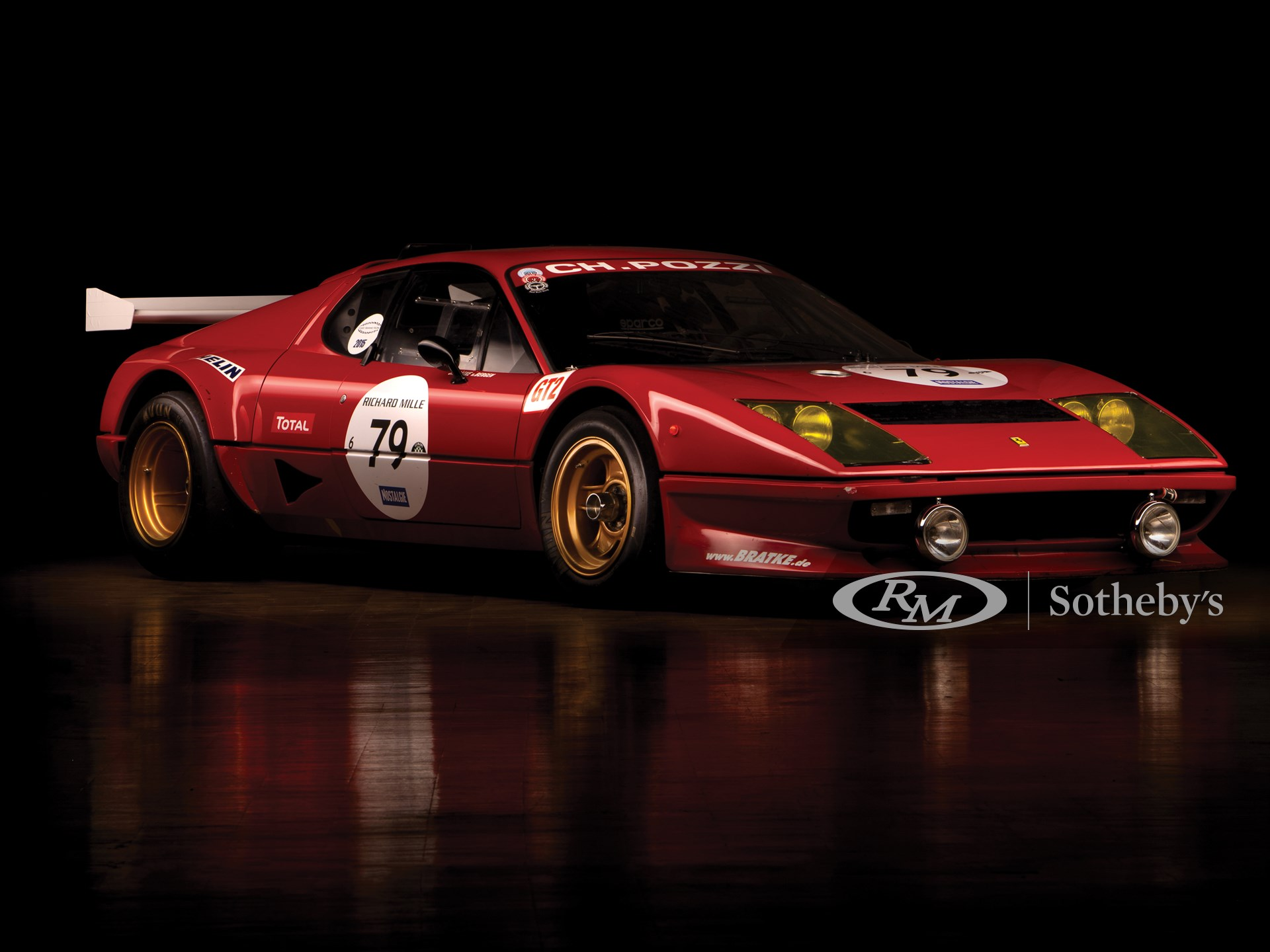 1980 Ferrari 512 Bb Competizione Paris 2019 Rm Sotheby S