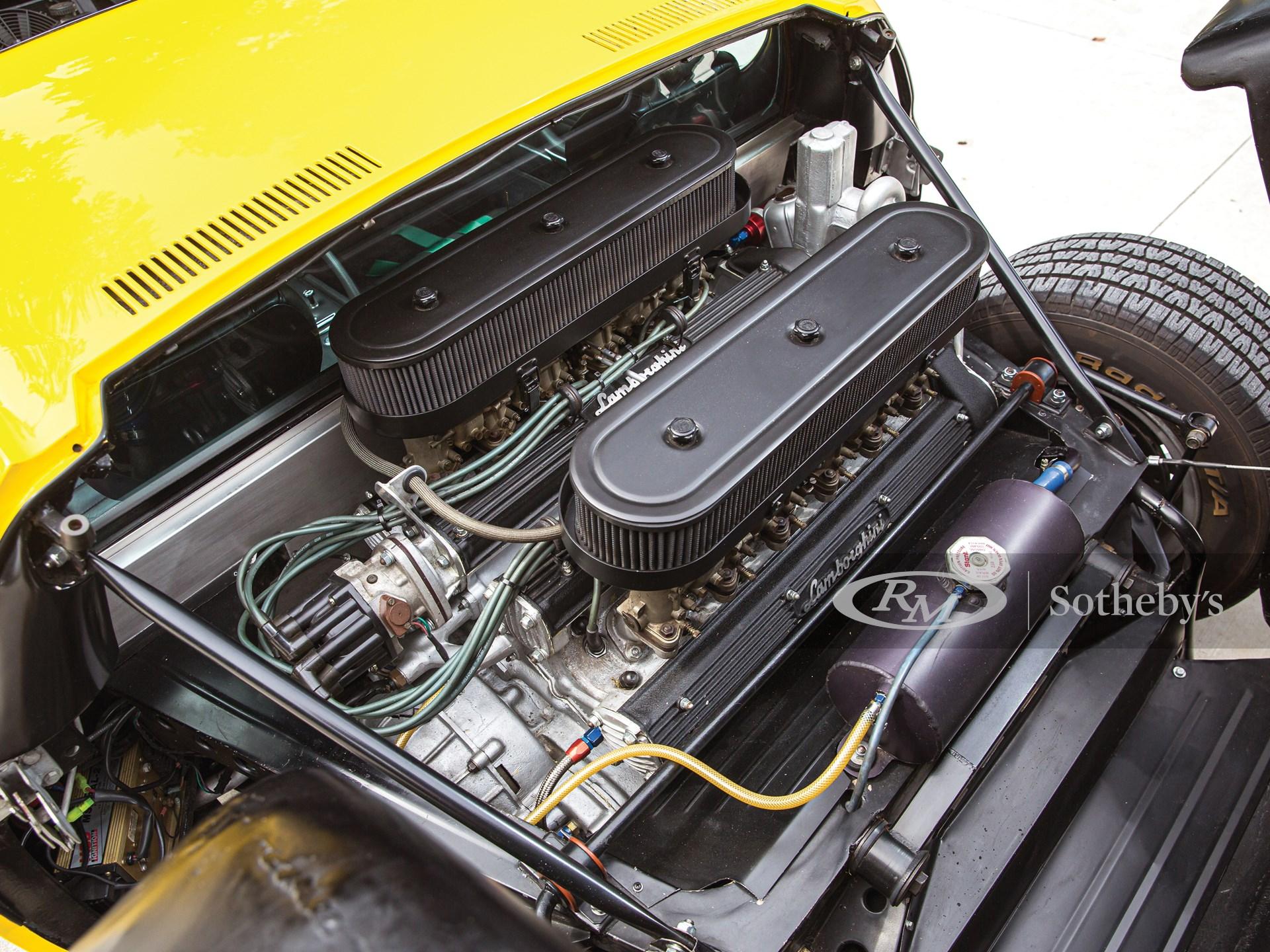 1969 Lamborghini Miura P400 S by Bertone -